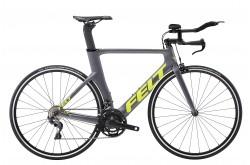 FELT B14 Matte Charcoal 2018 / Велосипед для триатлона, Для триатлона - в интернет магазине спортивных товаров Tri-sport!