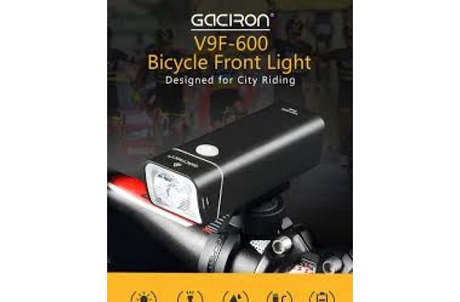 GACIRON V9F-600 ДИОД XPL 600 ЛЮМЕН / Фонарь шоссе, Фонарики - в интернет магазине спортивных товаров Tri-sport!