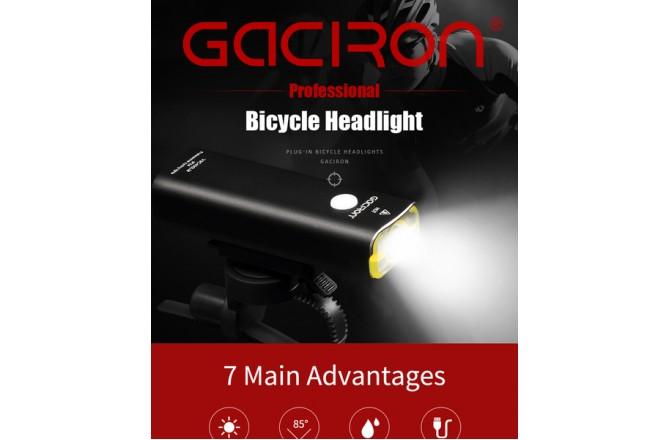GACIRON V9С-400 ДИОД XPL 400 ЛЮМЕН / Фонарь шоссе, Фонарики - в интернет магазине спортивных товаров Tri-sport!