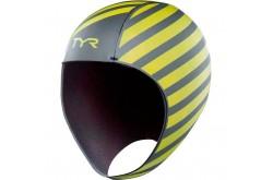 TYR Hi-Vis Neoprene Swim Cap \ Шапочка для плавания, Гидрокостюмы и аксессуары - в интернет магазине спортивных товаров Tri-sport!