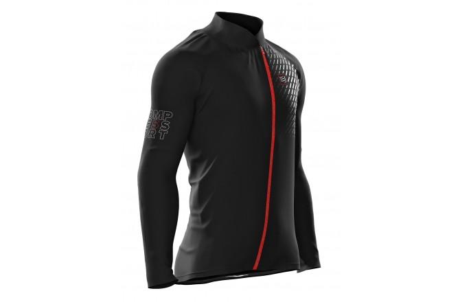 COMPRESSPORT V2 Hurricane Jacket / Ветровка с рукавами, Утепленные футболки - в интернет магазине спортивных товаров Tri-sport!