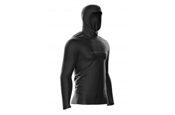 COMPRESSPORT 10/10 Black Edition / Куртка водоотталкивающая, Утепленные футболки - в интернет магазине спортивных товаров Tri-sport!