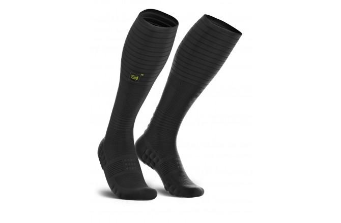 COMPRESSPORT Full Socks Oxygen Black Edition / Компрессионные ультратонкие гольфы, Компрессионные гольфы и гетры - в интернет магазине спортивных товаров Tri-sport!