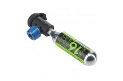 Насадка для ниппеля CO2 + 16гр. картридж резьбовой Scott, Насосы - в интернет магазине спортивных товаров Tri-sport!