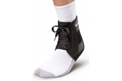 XLP Ankle Brace Black S / Фиксатор голеностопа на шнурке, Голеностоп - в интернет магазине спортивных товаров Tri-sport!