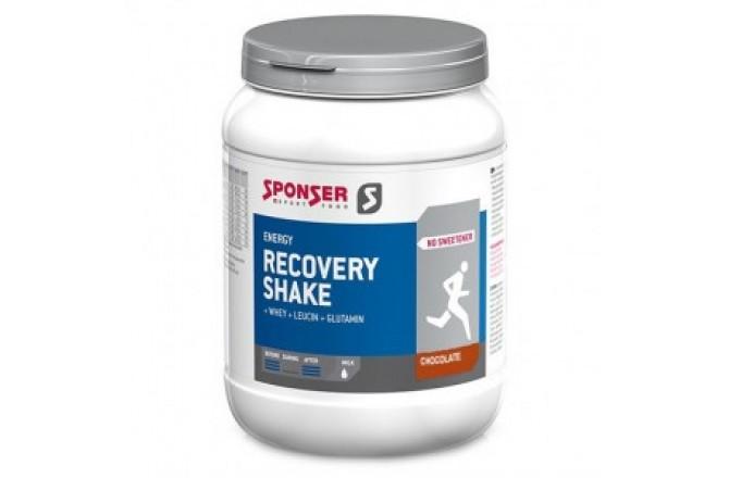 Sponser Recovery Shake Шоколад / Восстановительный комплекс (900g), Восстановительные препараты - в интернет магазине спортивных товаров Tri-sport!