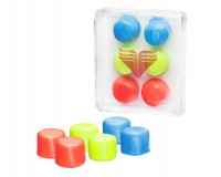 TYR Youth Multi-Colored Silicone Ear Plugs/ Беруши для бассейна