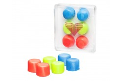TYR Youth Multi-Colored Silicone Ear Plugs / Беруши для бассейна