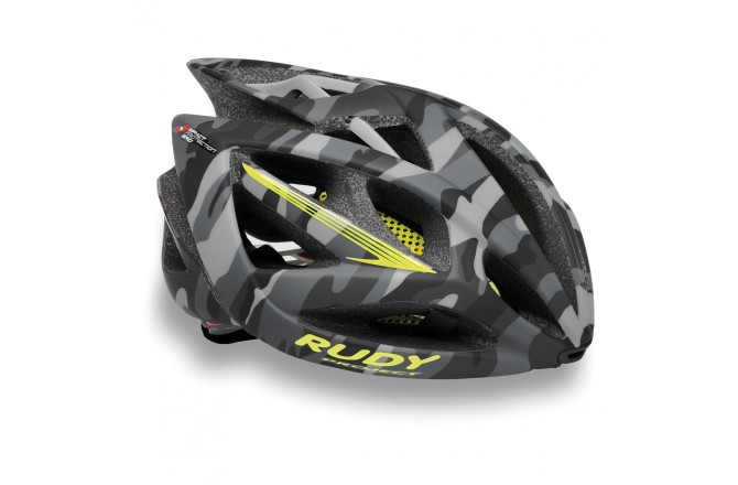 Rudy Project AIRSTORM GREY CAMO/YELLOW FLUO MATT S/M / Каска, Шлемы - в интернет магазине спортивных товаров Tri-sport!