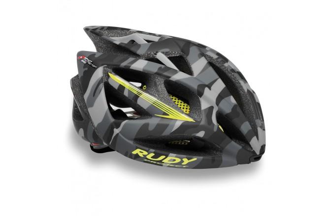 Rudy Project AIRSTORM GREY CAMO/YELLOW FLUO MATTE S/M / Каска, Шлемы - в интернет магазине спортивных товаров Tri-sport!