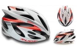 Rudy Project RUSH WHITE - RUBIN SHINY M / Каска, Шлемы - в интернет магазине спортивных товаров Tri-sport!