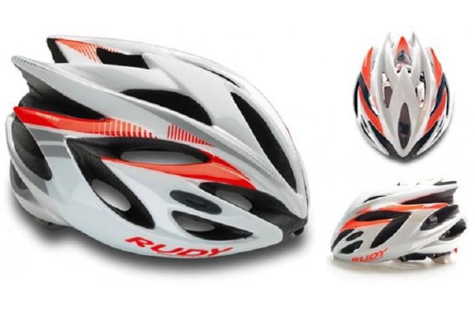 Rudy Project RUSH WHITE - RUBIN SHINY S / Каска, Шлемы - в интернет магазине спортивных товаров Tri-sport!