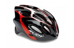 Rudy Project SNUGGY BLACK/RED/WHITE SHINY L / Каска, Шлемы - в интернет магазине спортивных товаров Tri-sport!