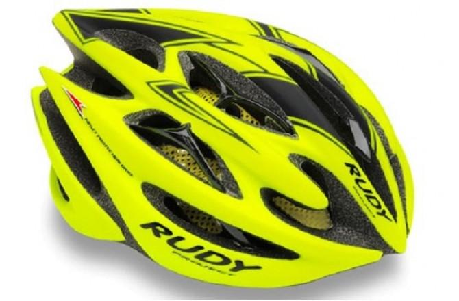 Rudy Project STERLING YELLOW FLUO - BLACK MATT L / Каска, Шлемы - в интернет магазине спортивных товаров Tri-sport!