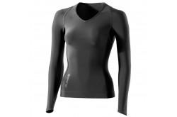 Skins RY400 Womens Top Long Sleeve / Майка с рукавами женская, Компрессионные шорты и тайтсы - в интернет магазине спортивных товаров Tri-sport!