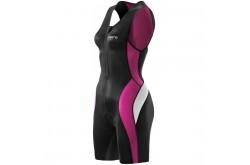 Skins TRI 400 Womens Skinsuit w Front Zip / Стартовый костюм женский, Стартовые костюмы - в интернет магазине спортивных товаров Tri-sport!