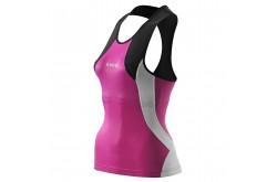 Skins TRI 400 Womens Racer back top / Майка для триатлона без рукавов женская, Стартовые костюмы - в интернет магазине спортивных товаров Tri-sport!