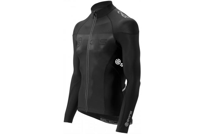 Skins C400 Compression Long Sleeve Jersey / веломайка с длинными рукавами, Джерси - в интернет магазине спортивных товаров Tri-sport!