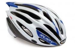 RP ACTYUM WHITE/SILVER/BLUE L / Каска,  в интернет магазине спортивных товаров Tri-sport!