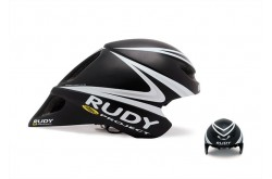 Rudy Project Chrono Wingspan Black/White/Silv Unisize / Шлем