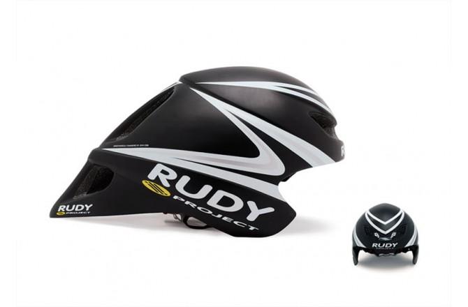 Каска RP CHRONO WINGSPAN BLACK/WHITE/SILV UNISIZE, Шлемы - в интернет магазине спортивных товаров Tri-sport!
