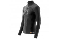 Skins S400X 1/2 Zip Long Sleeve Top / Футболка на молнии с длинным рукавом, Компрессионное термобелье - в интернет магазине спортивных товаров Tri-sport!