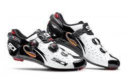 SIDI WIRE Carbon / Велотуфли белый/черный лакированный, Для шоссе - в интернет магазине спортивных товаров Tri-sport!