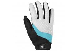 Перчатки жен. Scott Essential д/пал white/blue atoll, Перчатки - в интернет магазине спортивных товаров Tri-sport!