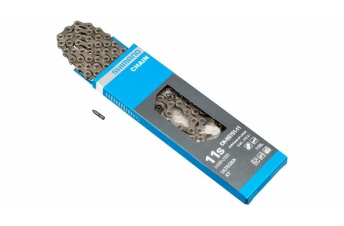 Цепь Shimano HG701 11ск 116 зв., амп.пин (1шт), ROAD/MTB/E-BIKE совмест., Цепи - в интернет магазине спортивных товаров Tri-sport!