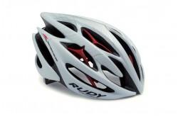 Каска RP STERLING RD WHITE/SILV/RED L, Шлемы - в интернет магазине спортивных товаров Tri-sport!