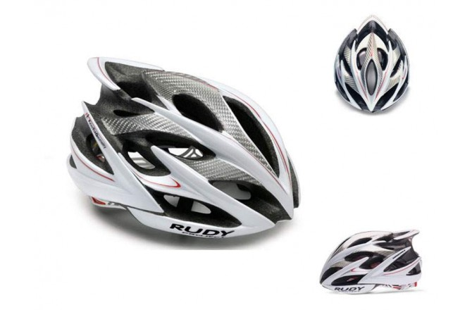 Каска RP WINDMAX WHITE/SILVER/RED SHINY L, Шлемы шоссейные - в интернет магазине спортивных товаров Tri-sport!