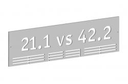 Держатель для медалей / 21 vs 42, Медаллеры - в интернет магазине спортивных товаров Tri-sport!