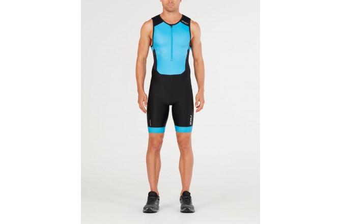 2XU Perform FrontZip Trisuit SS / Мужской стартовый костюм без рукавов, Стартовые костюмы - в интернет магазине спортивных товаров Tri-sport!