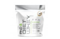 PhD Diet Whey Белый Шоколад / Протеиновая смесь диетическая (1kg)