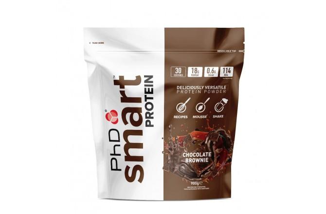 PhD Smart Protein Шоколадный Брауни / Протеиновый напиток (900g), Восстановительные препараты - в интернет магазине спортивных товаров Tri-sport!