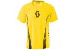 Футболка Scott RC RUN к/рук rc yellow, Одежда для бега - в интернет магазине спортивных товаров Tri-sport!