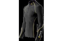 Skins BioAcc A200 Mens Thermal L/S MckNeck w zip /  Термофутболка с длинными рукавами на молнии, Компрессионное термобелье - в интернет магазине спортивных товаров Tri-sport!