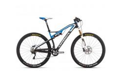 Orbea MTB OCCAM M30 15 / Велосипед черн-бел-голуб, Двухподвесы - в интернет магазине спортивных товаров Tri-sport!