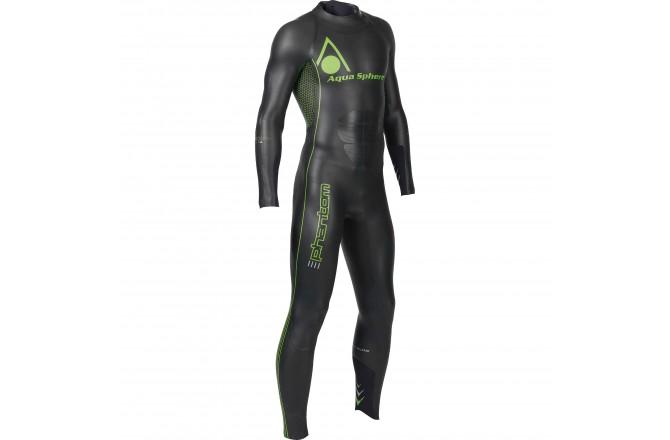 Aqua Sphere M's Phantom / Гидрокостюм для триатлона мужской, Гидрокостюмы и аксессуары - в интернет магазине спортивных товаров Tri-sport!