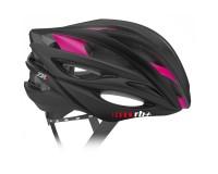 Zerorh+ ZW Woman (Matt Black-Bridge Shiny Pink) / Шлем велосипедный женский