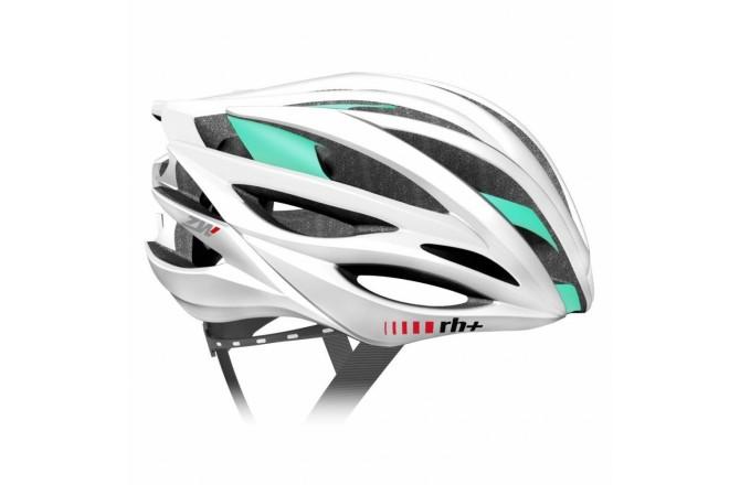 Zerorh+ ZW Woman (Matt White-Bridge Matt Water Green) / Шлем велосипедный женский, Шлемы - в интернет магазине спортивных товаров Tri-sport!