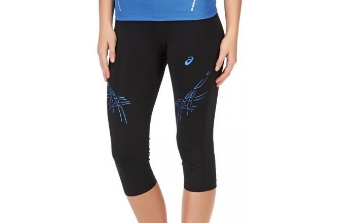 Asics Stripe Knee Tight \ Тайтсы 3\4 для бега женск., Тайтсы - в интернет магазине спортивных товаров Tri-sport!