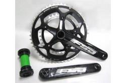 Шатуны шоссейные FSA Gossamer Pro M\Exo 170mm 50/34 Wilier logo, Инструменты - в интернет магазине спортивных товаров Tri-sport!